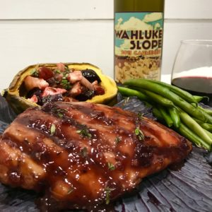 Our Carmenere pairs well with grilled meats!